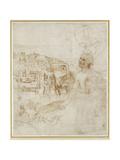 View of the City of Perugia Reproduction procédé giclée par  Raphael