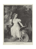 Her Majesty the Queen at the Age of Eleven Years Giclee Print by Richard Westall