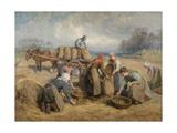 Potato Gatherers, Northumberland, 1903 Giclee Print by Ralph Hedley