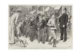 School Children's Strikes, Juvenile Strikers Parading their Grievances Reproduction procédé giclée par Robert Barnes