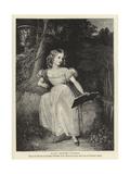 H R H Princess Victoria Giclee Print by Richard Westall