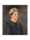 Portrait of an Old Woman, 1881 Giclee Print by Ralph Hedley