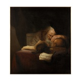 A Philosopher Giclee Print by Salomon Koninck