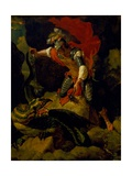 Jason Poisoning the Dragon Giclee Print by Salvator Rosa