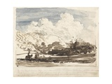 The Bright Cloud Giclee Print by Samuel Palmer