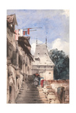 Abbey of St.Armand, Rouen Giclee Print by Richard Parkes Bonington