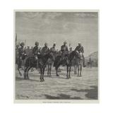 British Officers at Peshawur Reproduction procédé giclée par Richard Caton Woodville II