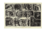 Scenes from the Life of a London Policeman Reproduction procédé giclée par Robert Barnes