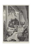 Dolce Far Niente, Life in an Indian Bungalow Reproduction procédé giclée par Richard Caton Woodville II