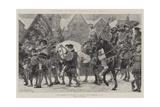 Coronations of English Sovereigns, Edward VI Reproduction procédé giclée par Richard Caton Woodville II
