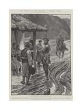 The Revolt in the Balkans, a Border Patrol Reproduction procédé giclée par Richard Caton Woodville II