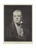 Sir Walter Scott Giclee-trykk av Sir Henry Raeburn