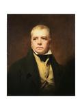 Sir Walter Scott (1771-1832), 1822 Giclee-trykk av Sir Henry Raeburn