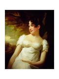 Miss Lamont of Greenock, C.1810-15 Giclee-trykk av Sir Henry Raeburn