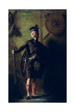 Colonel Alistair Macdonell of Glengarry, Exh. 1812 Giclee-trykk av Sir Henry Raeburn