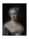 Portrait of a Lady, C.1730-40 Giclee-trykk av Rosalba Giovanna Carriera