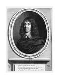 Portrait of Jean-François Sarasin Reproduction procédé giclée par Robert Nanteuil