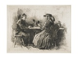 Prosit!, 1886 Giclée-tryk af Robert Koehler