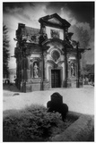 The Kanitz-Kyausche Mausoleum, Schloss Hainewalde Impressão fotográfica por Simon Marsden