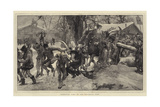 Carnival Time in the Bavarian Alps Giclee Print by Hubert von Herkomer