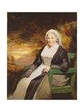 Christina Lamont Drummond, Mrs. Douglas Campbell of Ballimore, C.1795 Giclee-trykk av Sir Henry Raeburn