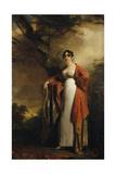Frances Harriet Wynne, Mrs Hamilton of Kames, before June 1811 Giclee-trykk av Sir Henry Raeburn