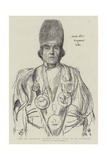 Hwfa Mon, Archdruid, President of the Gorsedd at the Eisteddfod Giclee Print by Hubert von Herkomer