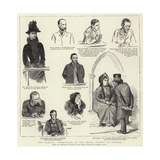 The Parnell Commission at the Royal Courts of Justice Giclee Print by Sydney Prior Hall