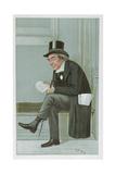 James Staats Forbes, 'Spy' Cartoon from Vanity Fair, Pub. 1900 Reproduction procédé giclée par Sir Leslie Ward