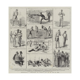 Australia Versus England at Lord'S, 21, 22, and 23 July 1884 Giclee Print by Sydney Prior Hall