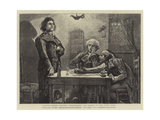 Ninety-Three, Danton, Robespierre, and Marat in the Wine Shop Giclee Print by Hubert von Herkomer