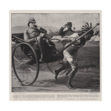 Sir William Maccormac on His Way to Inspect a Hospital at Pietermaritzburg Giclee Print by Sydney Prior Hall