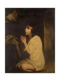 The Infant Samuel Giclee-trykk av Sir Joshua Reynolds