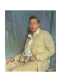 Count John Mccormack (1884-1945), 1923 Gicléetryck av Sir William Orpen