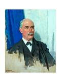 The Right Honourable G. N. Barnes, PC, 1919 Gicléetryck av Sir William Orpen