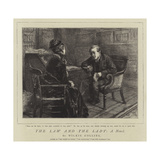 The Law and the Lady, a Novel Giclee Print by Sydney Prior Hall