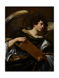 Angels with Attributes of the Passion, the Superscription from the Cross, C.1624 Giclée-Druck von Simon Vouet