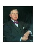 T. Howarth, Jp, 1925 Gicléetryck av Sir William Orpen