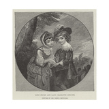 Lord Henry and Lady Charlotte Spencer Giclee Print by Sir Joshua Reynolds
