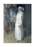 Portrait of the Artist, 1908 Gicléetryck av Sir William Orpen
