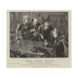 Thet Wild Wheel Giclee Print by Sydney Prior Hall