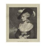 Portrait of Mrs Robinson Giclee Print by Sir Joshua Reynolds