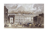 A Contemporary of the New Royal Mint, C.1830 Giclee Print by Thomas Hosmer Shepherd