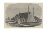 Christ Church, Recently Erected at Lancaster Giclee Print by Thomas Harrington Wilson