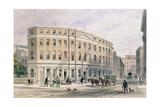 New Houses at Entrance of Gresham St, 1851 Giclee Print by Thomas Hosmer Shepherd