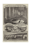 The Funeral of the Late Mr Robert Stephenson, on Friday Week, in the Nave of Westminster Abbey Giclee Print by Thomas Harrington Wilson