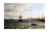 View of Philadelphia Giclee Print by Thomas Birch