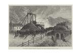 Mauricewood Colliery, Penicuik, Midlothian, the Scene of the Late Disastrous Fire Giclee Print by Thomas Harrington Wilson