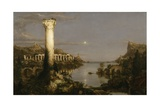 The Course of Empire: Desolation, 1836 Gicléedruk van Thomas Cole