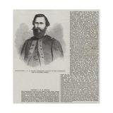 Major-General J E B Stuart, Commanding Cavalry of the Confederate Army of Northern Virginia Giclee Print by Thomas Harrington Wilson